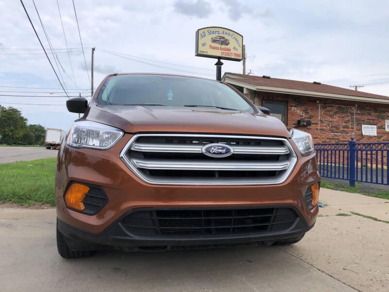 2017 Ford Escape for sale at All Starz Auto Center Inc in Redford MI