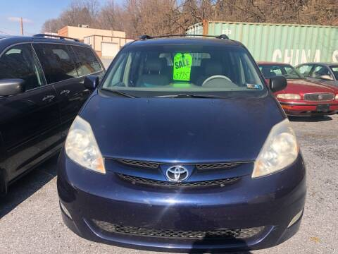 2007 Toyota Sienna for sale at YASSE'S AUTO SALES in Steelton PA