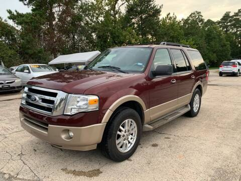 2012 Ford Expedition for sale at AUTO WOODLANDS in Magnolia TX