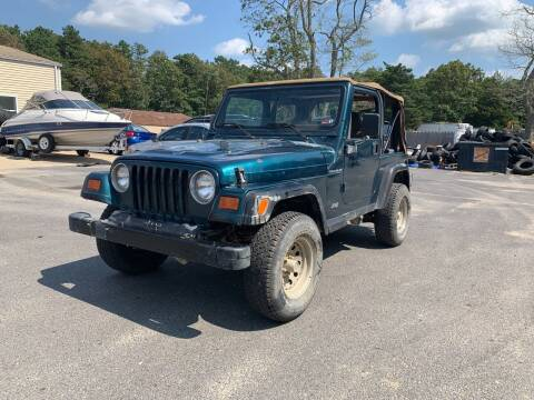 1997 Jeep Wrangler for sale at Century Motor Cars in West Creek NJ