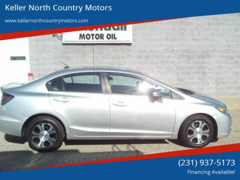 2014 Honda Civic for sale at Keller North Country Motors in Howard City MI