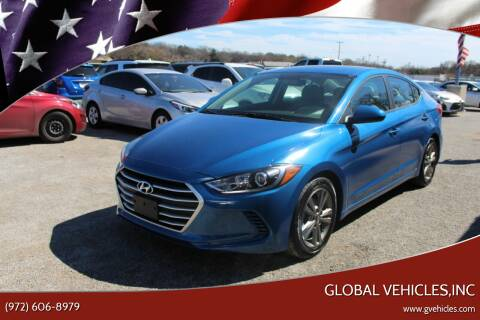 2018 Hyundai Elantra for sale at Global Vehicles,Inc in Irving TX