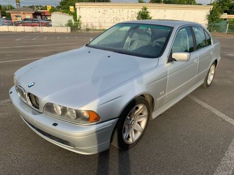 2003 BMW 5 Series for sale at Diana Rico LLC in Dalton GA