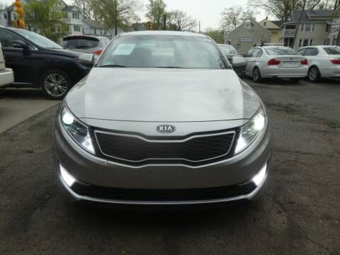 2012 Kia Optima Hybrid for sale at Wheels and Deals in Springfield MA