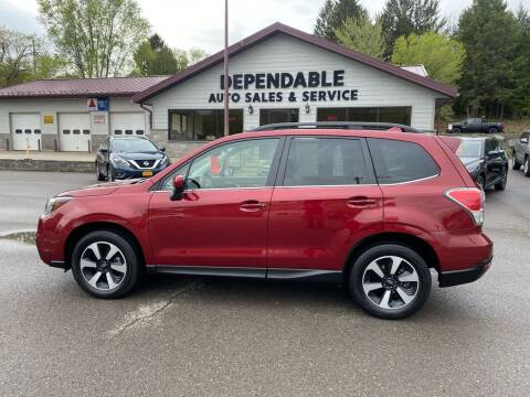 2018 Subaru Forester for sale at Dependable Auto Sales and Service in Binghamton NY
