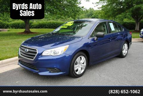 2017 Subaru Legacy for sale at Byrds Auto Sales in Marion NC