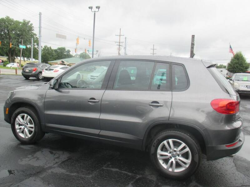 2013 Volkswagen Tiguan for sale at Home Street Auto Sales in Mishawaka IN