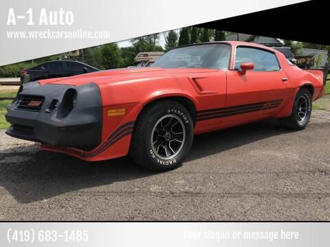 1980 Chevrolet Camaro for sale at A-1 Auto in Crestline OH