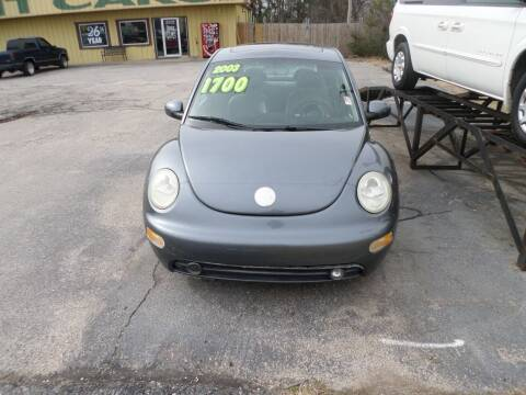 2003 Volkswagen New Beetle for sale at Credit Cars of NWA in Bentonville AR