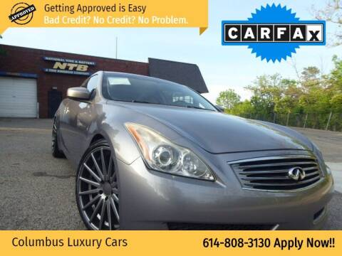 2009 Infiniti G37 Coupe for sale at Columbus Luxury Cars in Columbus OH