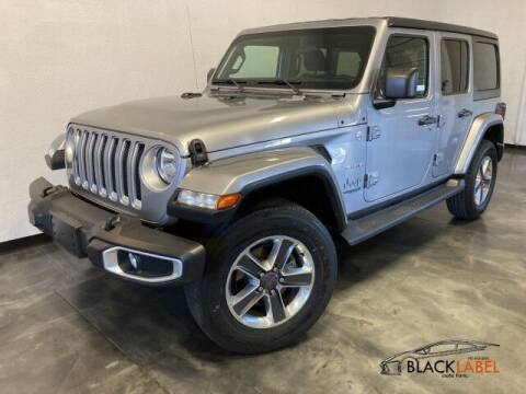 2019 Jeep Wrangler Unlimited for sale at BLACK LABEL AUTO FIRM in Riverside CA
