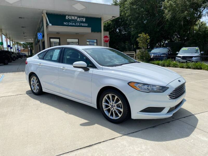 2017 Ford Fusion for sale at Dunn-Rite Auto Group in Longwood FL