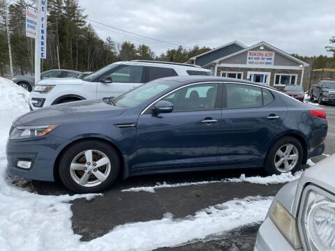 2015 Kia Optima for sale at Mascoma Auto INC in Canaan NH