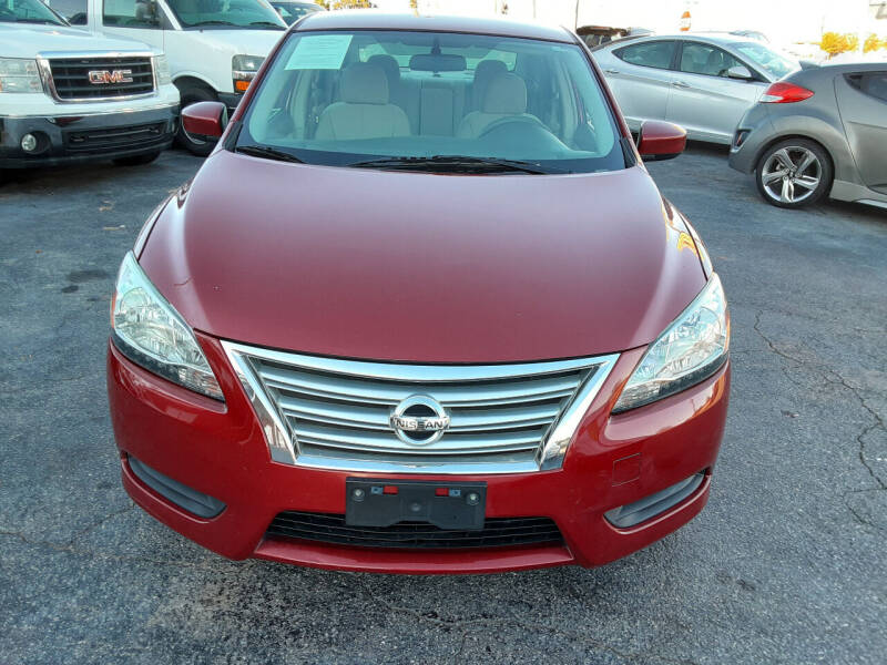2013 Nissan Sentra for sale at LOS PAISANOS AUTO & TRUCK SALES LLC in Peachtree Corners GA