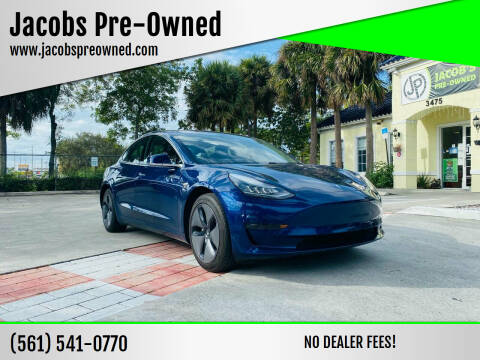 2019 Tesla Model 3 for sale at Jacobs Pre-Owned in Lake Worth FL