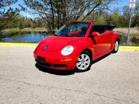 2010 Volkswagen New Beetle Convertible for sale at Excalibur Auto Sales in Palatine IL