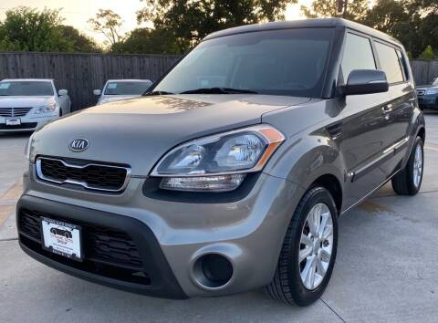 2012 Kia Soul for sale at DYNAMIC AUTO GROUP in Houston TX