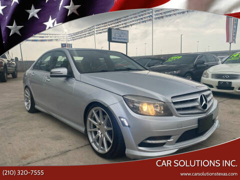 2011 Mercedes-Benz C-Class for sale at Car Solutions Inc. in San Antonio TX