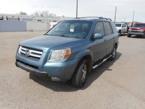 2007 Honda Pilot for sale at AUGE'S SALES AND SERVICE in Belen NM