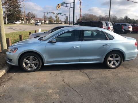 2012 Volkswagen Passat for sale at Right Place Auto Sales in Indianapolis IN