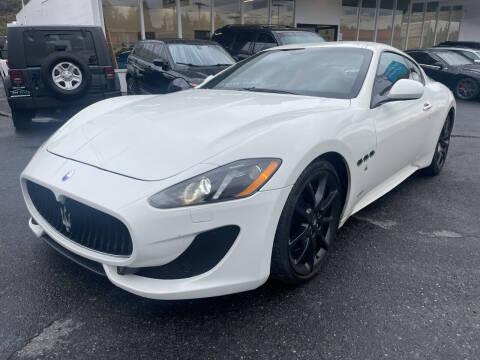 2013 Maserati GranTurismo for sale at APX Auto Brokers in Edmonds WA