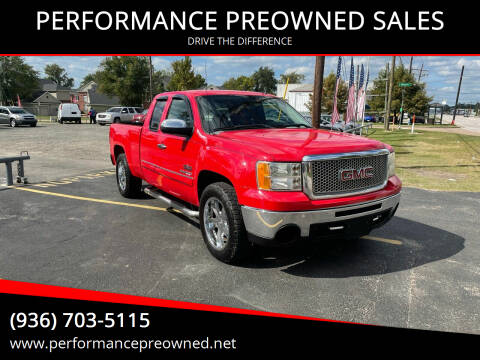 2011 GMC Sierra 1500 for sale at PERFORMANCE PREOWNED SALES in Conroe TX