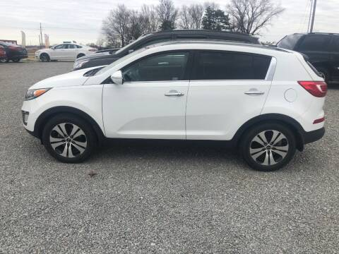 2013 Kia Sportage for sale at LYNDON MOTORS in Lyndon KS
