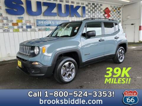 2018 Jeep Renegade for sale at BROOKS BIDDLE AUTOMOTIVE in Bothell WA