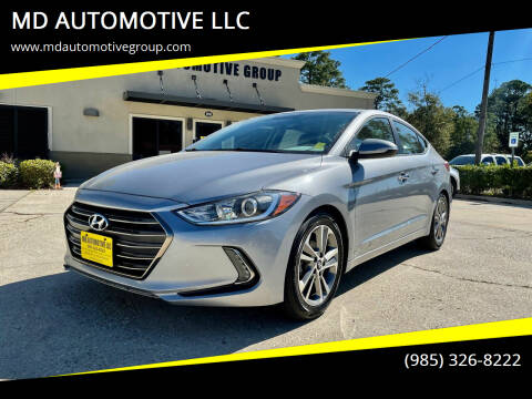 2017 Hyundai Elantra for sale at MD AUTOMOTIVE LLC in Slidell LA