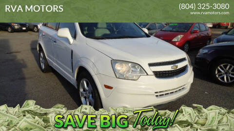 2013 Chevrolet Captiva Sport for sale at RVA MOTORS in Richmond VA
