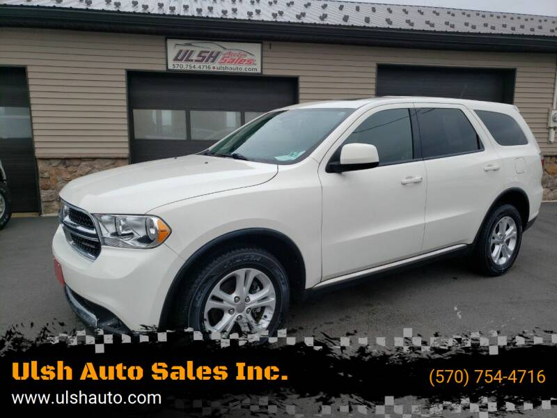 2011 Dodge Durango for sale at Ulsh Auto Sales Inc. in Summit Station PA