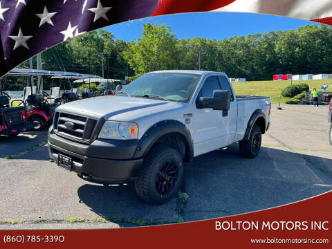 2007 Ford F-150 for sale at BOLTON MOTORS INC in Bolton CT