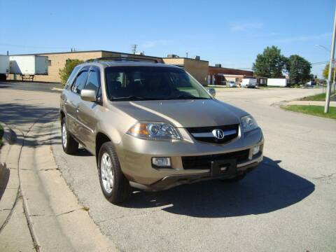 2006 Acura MDX for sale at ARIANA MOTORS INC in Addison IL