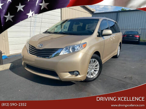 2012 Toyota Sienna for sale at Driving Xcellence in Jeffersonville IN