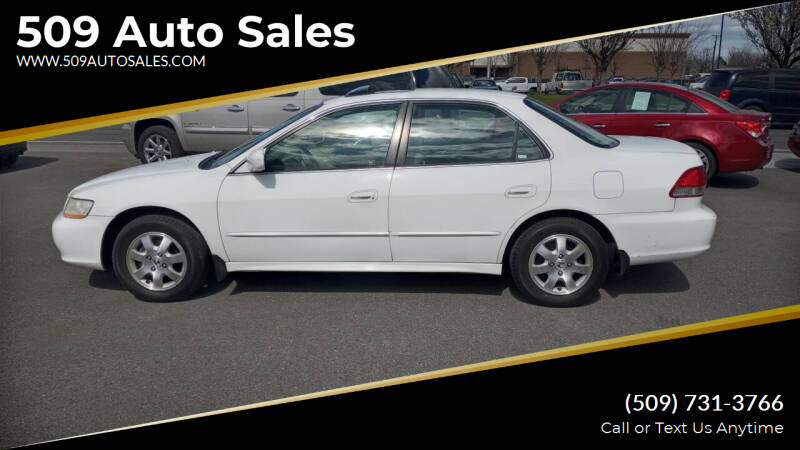 2002 Honda Accord for sale at 509 Auto Sales in Kennewick WA