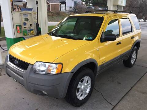 2002 Ford Escape for sale at INTERNATIONAL AUTO SALES LLC in Latrobe PA