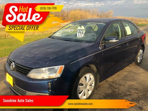 2014 Volkswagen Jetta for sale at Sunshine Auto Sales in Menasha WI