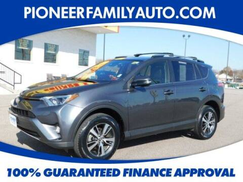 2017 Toyota RAV4 for sale at Pioneer Family Preowned Autos in Williamstown WV