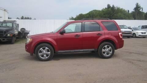 2010 Ford Escape for sale at Pepp Motors - Superior Auto in Negaunee MI