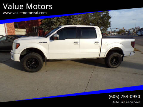 2011 Ford F-150 for sale at Value Motors in Watertown SD