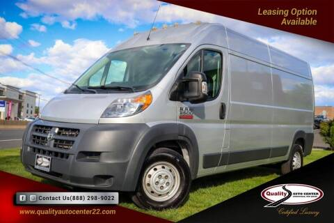 2016 RAM ProMaster Cargo for sale at Quality Auto Center of Springfield in Springfield NJ