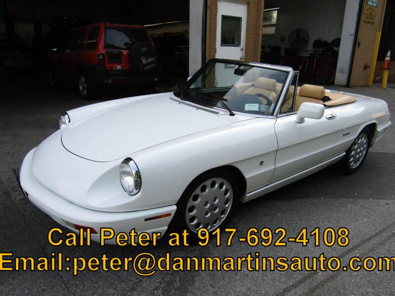 1991 Alfa Romeo Spider for sale at Dan Martin's Auto Depot LTD in Yonkers NY