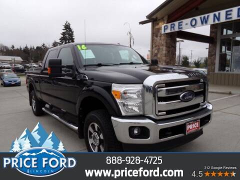 2016 Ford F-250 Super Duty for sale at Price Ford Lincoln in Port Angeles WA