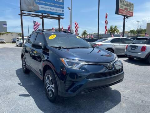 2018 Toyota RAV4 for sale at MACHADO AUTO SALES in Miami FL