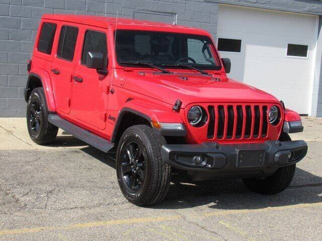 2020 Jeep Wrangler Unlimited for sale at K&M Wayland Chrysler  Dodge Jeep Ram in Wayland MI