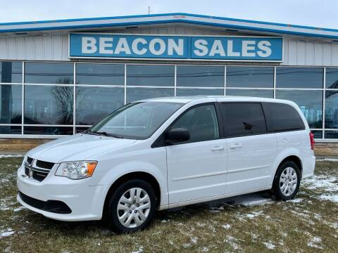 2015 Dodge Grand Caravan for sale at BEACON SALES & SERVICE in Charlotte MI