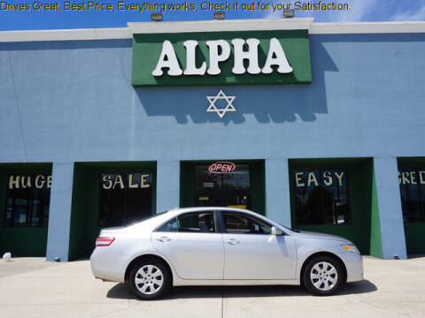 2011 Toyota Camry for sale at ALPHA AUTOMOBILE SALES, LLC in Lafayette LA