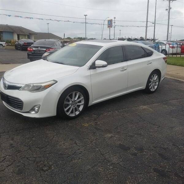 2013 Toyota Avalon for sale at Jim Clark Auto World in Topeka KS