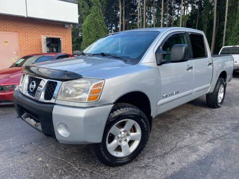 2006 Nissan Titan for sale at Magic Motors Inc. in Snellville GA