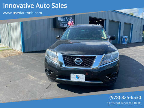 2015 Nissan Pathfinder for sale at Innovative Auto Sales in North Hampton NH